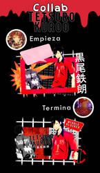 Tagwall Tetsuro Kuroo - Collab Hima Yoru by AyakaHazuki315