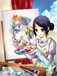 Just Painting by Ginryuzaki