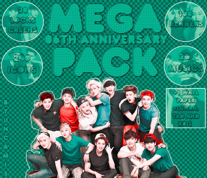 MEGAPACK!: EXO 6th ANNIVERSARY by fairyixing