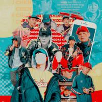 banner | kim jongdae by fairyixing
