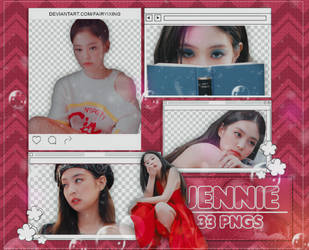 [PNG PACK #912] Jennie - BLACKPINK (SOLO - MV) by fairyixing