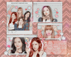 [PNG PACK #913] BLACKPINK - (Line Stickers) by fairyixing