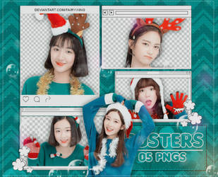 [PNG PACK #953] Busters - (Christimas 2017) by fairyixing