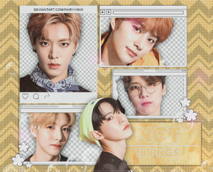 [PNG PACK #956] NCT - (Seasons Greetings 2019) by fairyixing