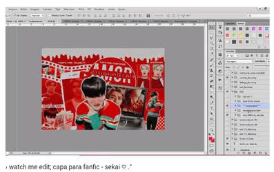 + watch me edit: capa para fanfic | sekai by fairyixing