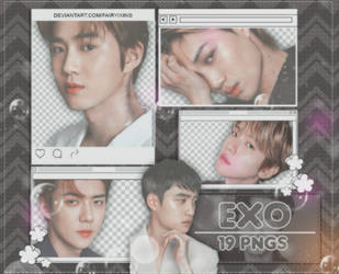 [PNG PACK] EXO - (Seasons Greetings 2019) Pt.2 by fairyixing