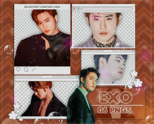 [PNG PACK] Suho x D.O. - EXO (LOVE SHOT) by fairyixing