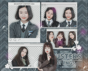 [PNG PACK] Busters - (ASIA 10) by fairyixing