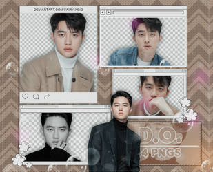[PNG PACK] D.O. - EXO (181210) by fairyixing