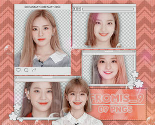 [PNG PACK] Fromis 9 - (New Ade) by fairyixing