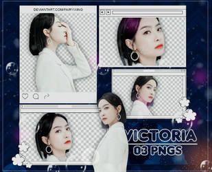 [PNG PACK] Victoria - F(x) (181202) by fairyixing
