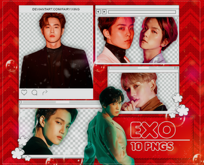Png Pack Exo Love Shot By Fairyixing On Deviantart