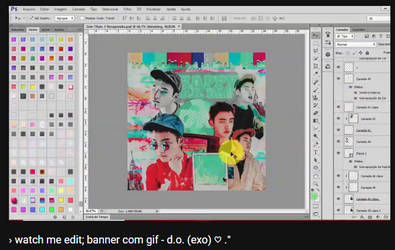 + watch me edit: banner | happy d.o. day by fairyixing