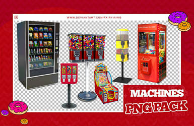 + pack pngs 34 | machines by fairyixing