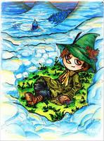 Snufkin by mitani-chan