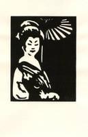 .Classic Geisha. by mitani-chan