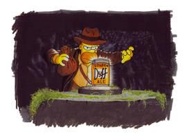 Indiana Homer by lance-kramer