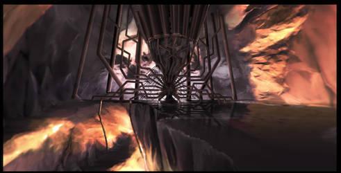Dagoth Ur Cathedral ThroneRoom by Ravanna7
