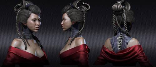Geisha design 1. by Ravanna7