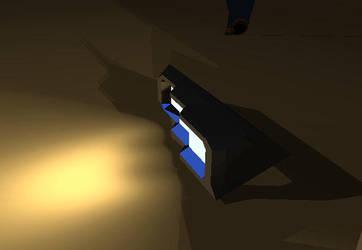 Armored bus headlight module by Bigfoot-Ti