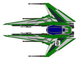 Mandalorian Shard Fighter by kavinveldar