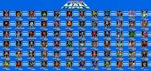 Megaman Baddies by kavinveldar