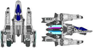 Defender Class Gunstar by kavinveldar