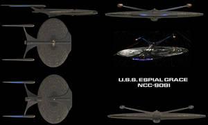 USS Espial Grace NCC-9091 by kavinveldar
