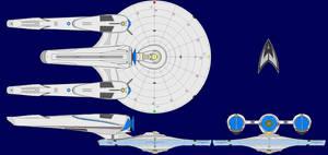 USS John Glenn JJ Abramsverse by kavinveldar