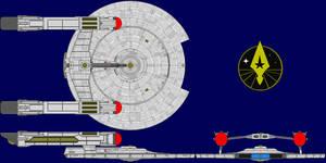 USS Warguard Pre Axanar Era by kavinveldar