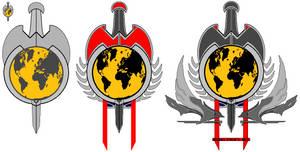 New Terran Empire symbols by kavinveldar