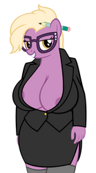 Busty secretary by sofunnyguy
