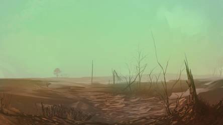 Fallout Landscape by DefineRaz