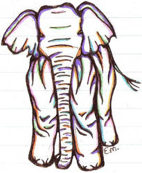 Elephant. by ViolentCat345