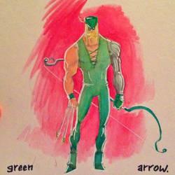 DK2 Green Arrow by Zeigler