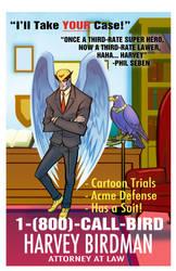 Harvey Birdman Advert by Zeigler
