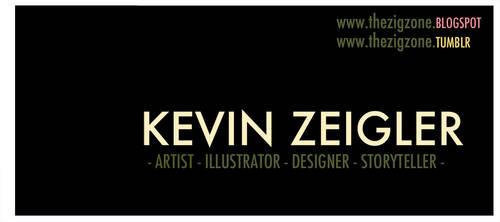 KEVIN ZEIGLER by Zeigler