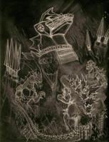 Terror of MechaGodzilla by Turbid-D
