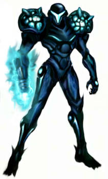 Dark Samus by Turbid-D