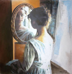 At the mirror by AramN