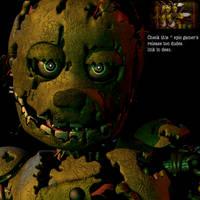 Springtrap v8 (halloween release) by Lettuce-Boi