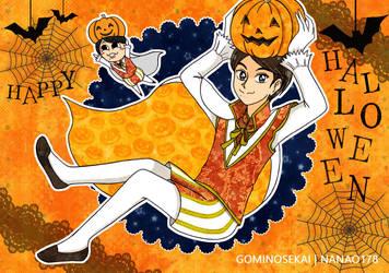 Halloween Ninomiya by Nanao178