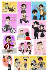 Tumblr Art Dump - Arashi Fanarts 2 by Nanao178