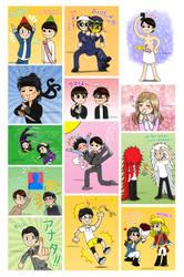 Tumblr Art Dump - Arashi Fanarts 3 by Nanao178