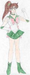 Sailor Jupiter by FoxBluereaver