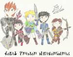 Link's Legion - Anniversary Pic by FoxBluereaver