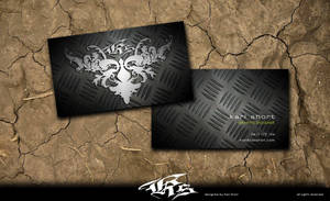 KS business cards by pentatonic-ripper