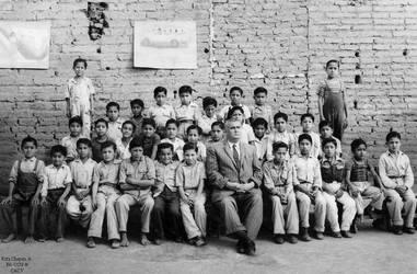 1953 (3) Alumnos de la Escuela Fiscal 267 de Truji by Chepen-Ruta