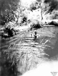 1953 (2) Acequia Pacanga muchos chepenanos se ban by Chepen-Ruta