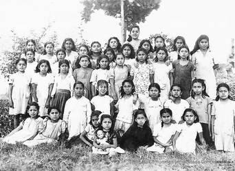 1951 (4) 1951-55 Alumnos del Colegio Primario Part by Chepen-Ruta